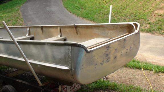 Vintage Alumacraft Modell Fd